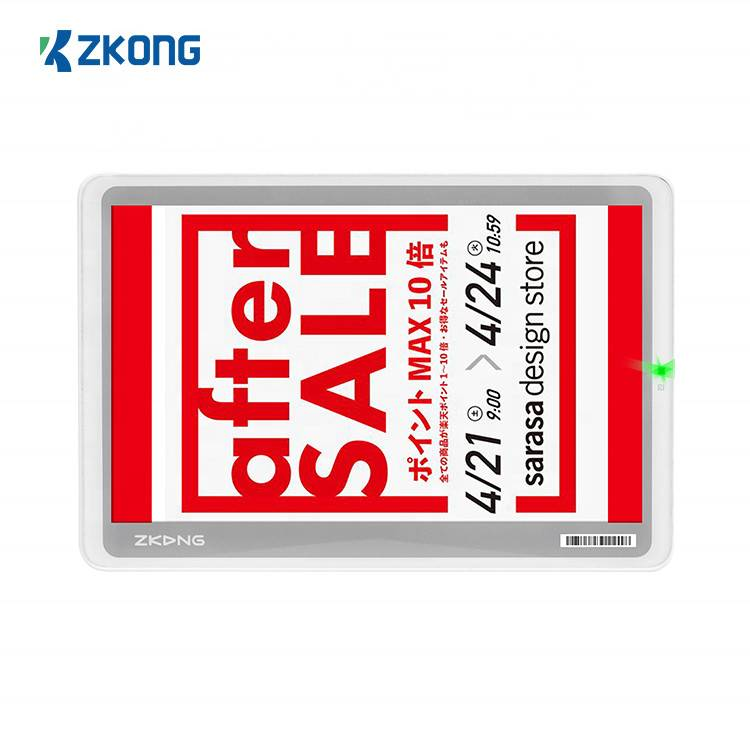 Newly Arrival E Ink Color Display Price - Supermarket electronic price tag esl electronic shelf label digital price tag  – Zkong