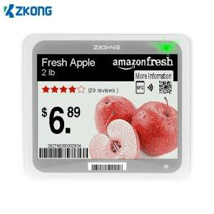 Top Suppliers Electronic Shelf Edge Labels - Digital price tag eink bluetooth tag for supermarket – Zkong