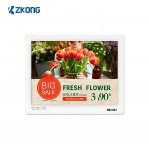 China wholesale Price Tag - Multicolor 5.8 inch Electronic Shelf Label ESL   – Zkong