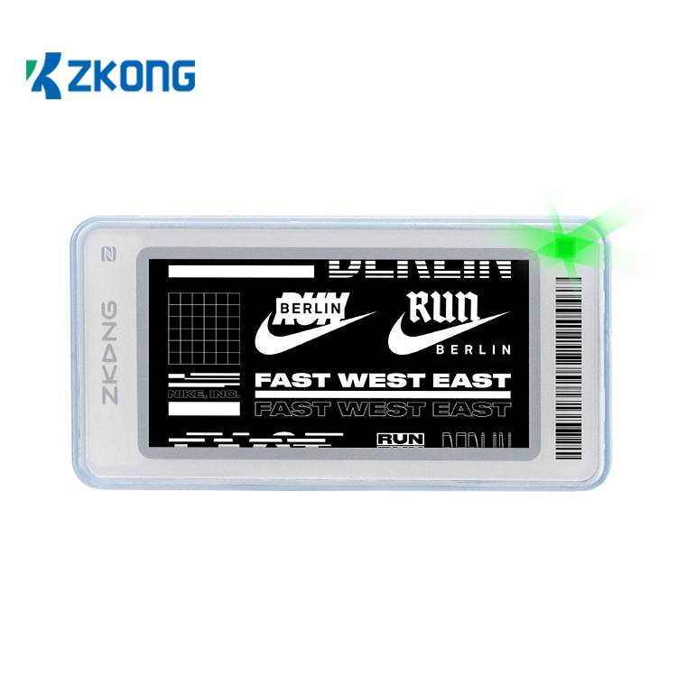 Hot Sale for Electronic Label System - Wireless Retail Display Price Tags Esl Label Digital Shelf Talker For Low Temperature – Zkong