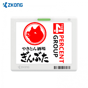 NFC Ultra thin Electronic Shelf Label price tag for retailer