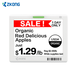 New Fashion Design for Digital Price Tags Grocery Stores - Digital electronic shelf label digital price tag supermarket price display – Zkong