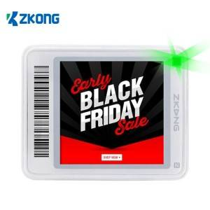 Discount wholesale Cheap Epaper Display - Electronic Shelf Label pricer retail display price tags esl system – Zkong