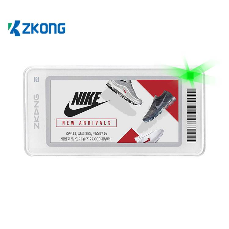 Best quality Clothing Price Tag Maker - Zkong ESL digital shelf labels  e ink price tag for retail chain stores – Zkong