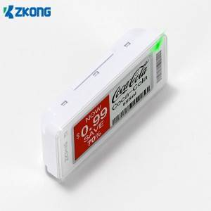 Best Price for Pvc Labels For Clothing - Electronic price display supermarket – Zkong