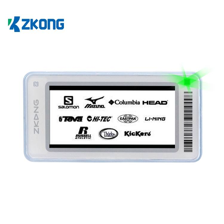 Factory Price For Electronic Shelf Edge Labels - Wireless Retail Display Price Tags Esl Label Digital Shelf Talker For Low Temperature – Zkong