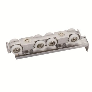 High Performance Closet Door Rollers - Hanging Wheel Series 208-01 sliver – Qianchuan