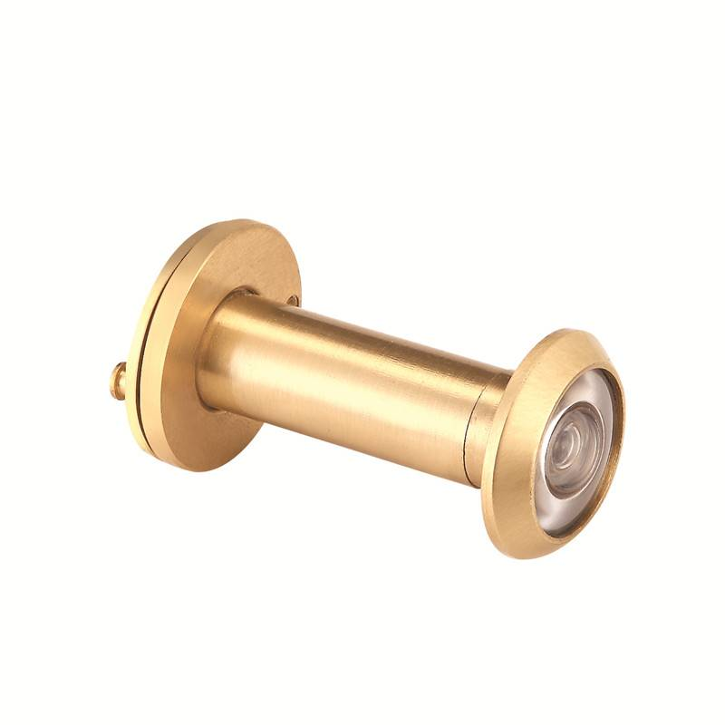 Free sample for Hanging Door Rollers - Zinc Alloy Door Guard Series 5-2 door viewer(copper ) – Qianchuan