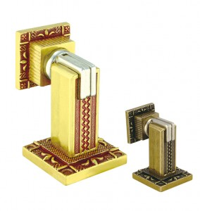 Fixed Competitive Price Closet Door Wheels - European Door Stopper Series 777 Europe gold – Qianchuan