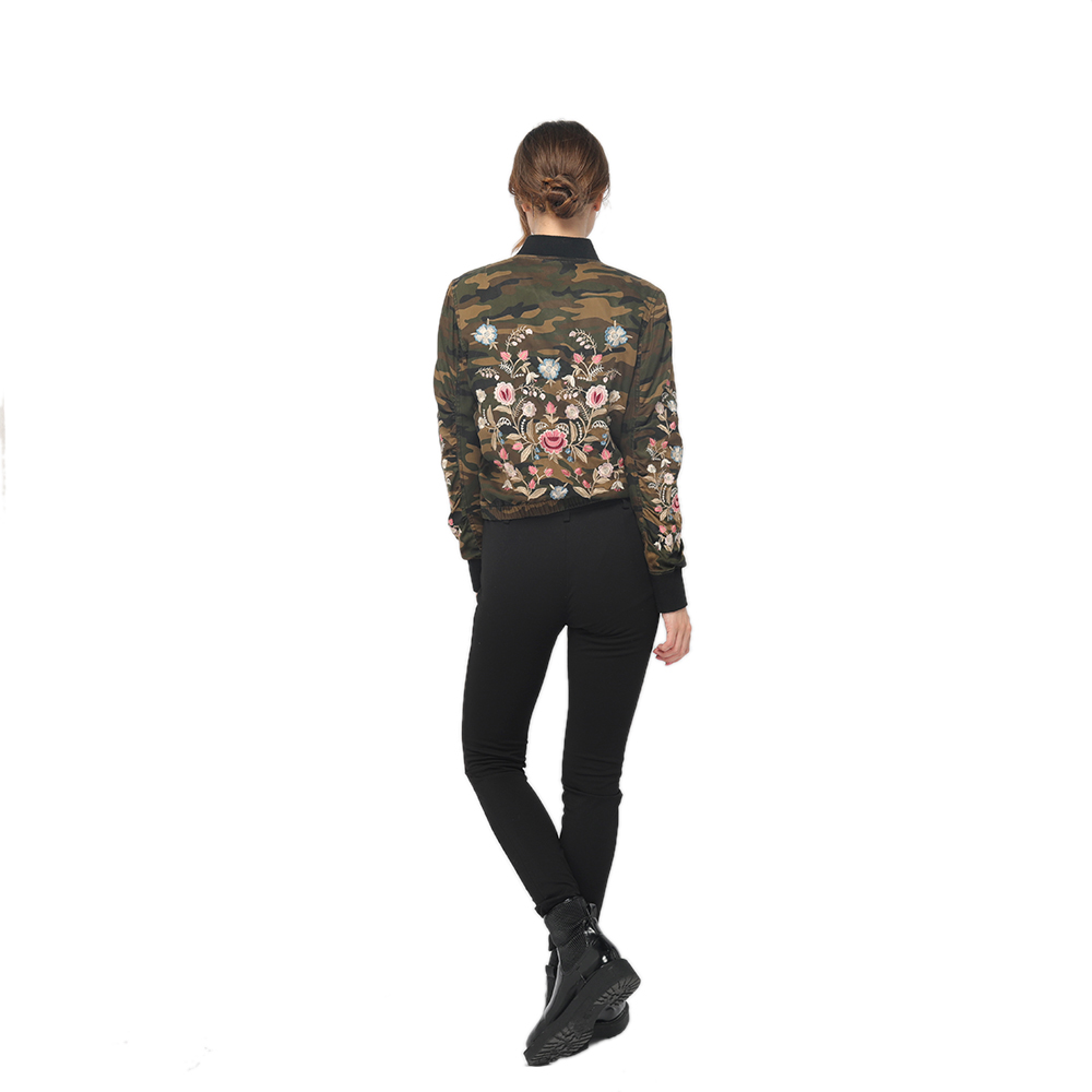 China Factory for Men Clothes - 2020 modern tencel embroidery rib collar long sleeve jacket women wholesale  – Youchen