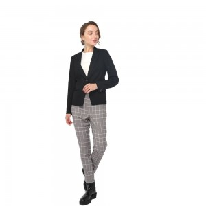 Quality Inspection for Regeneration Polyester - 2020 modern long sleeve uniform blazer women wholesale – Youchen