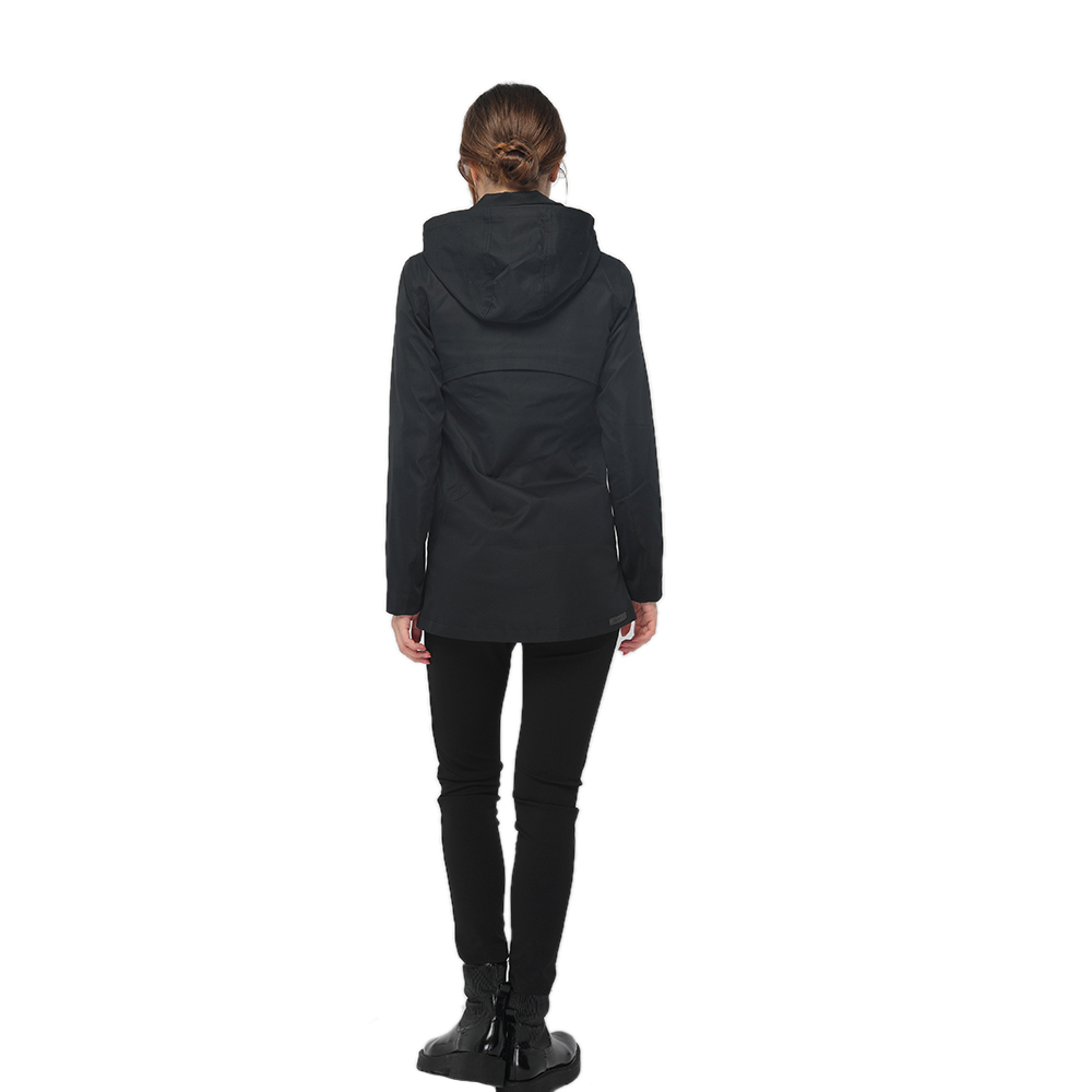 professional factory for Drain Channel - 2020 modern shirt neck front zipper fastening long sleeve detachable hooded jacket women wholesale – Youchen