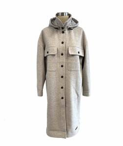 2021 modern detachable hooded coat women wholesale