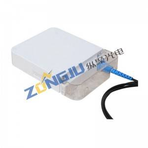 Chinese wholesale Catv Fiber Transmitter - FTTH Fiber Optical Face Box ZJ101 –  Zongju