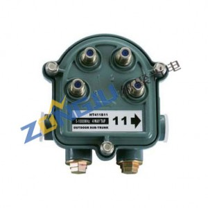 Special Design for Tv Transmitter - Outdoor 4 WAY TAP (5~1000 MHz) –  Zongju