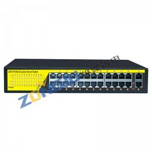 24 Port GIGABIT ACTIVE POE Switch-(24+2) 2420GB (Desktop Type)