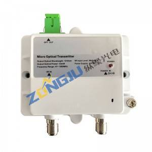 Mini Optical Transmitter (ZTX1310M/ZTX1550M)