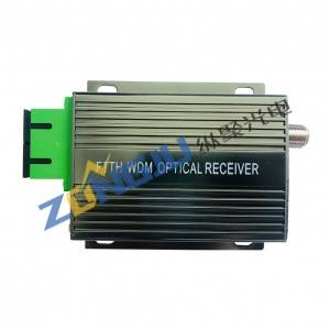 FTTH WDM Fiber Optical Receiver