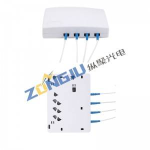 FTTH Fiber Optical Face Box ZJ401