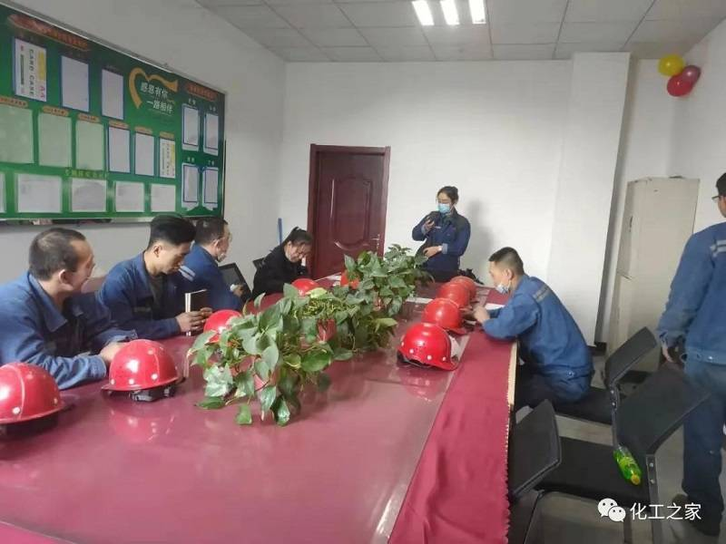 Zouping Mingxing chemical company carries out emergency drilling activities