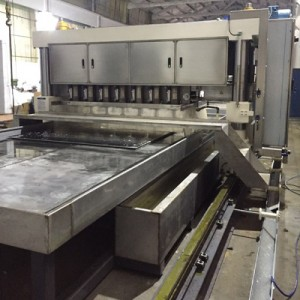 Mirror Finishing Machine for Stainless Steel Plate