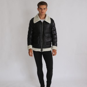 Factory Free sample Thick Long Down Jacket - Factory Wholesale Men Apparel Fashional Clothes Down Short Coat – Hengqianxiang