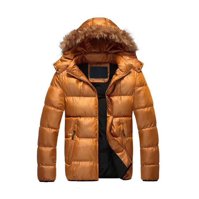 2018 wholesale price Mink Fur Lined Parka - Super warm winter men padded jacket – Hengqianxiang