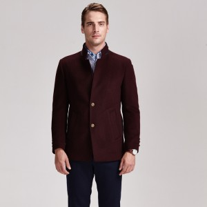 China wholesale Goose Down Jacket Men - Mens Cashmere Suit Men's Fashion Brand Blazer Factory manufacturer formal woolen men coat – Hengqianxiang