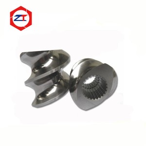 Convey screw elements for twin screw extruder