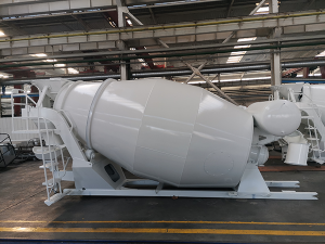 6CBM concrete mixer upper body