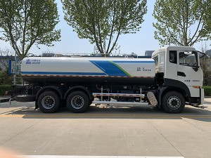 Shacman brand 20cbm water sprinkling truck