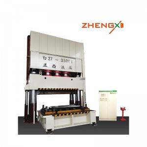 Factory Cheap Hot Hydraulic Deep Drawing Press Machine For Kitchen Sink -  4 column deep drawing hydraulic press – Zhengxi