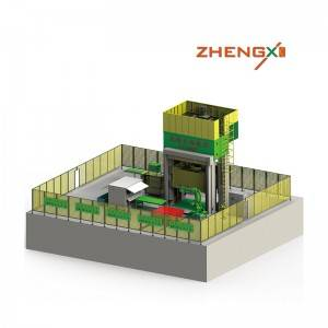 Manufacturer for Smc Machine For Sheet Moulding Compound - Automatic production line – Zhengxi