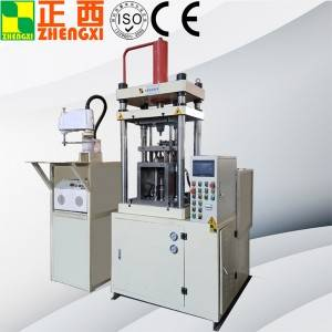 Metal powder forming hydraulic press