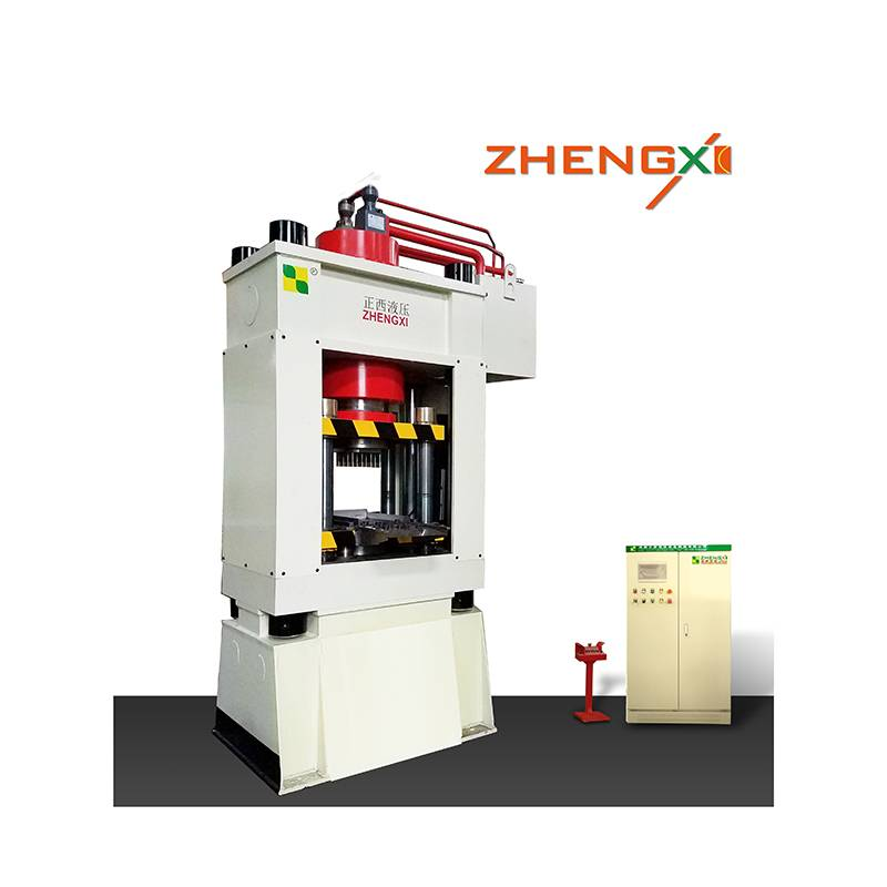 Hot New Products Animal Licking Salt Block Hydraulic Press - Automatic Ferrite Magnetic Hydraulic Press – Zhengxi