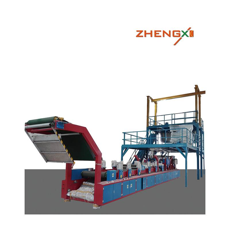 High Quality SMC machine - Automatic SMC Production Line SMC machine sheet molding compound – Zhengxi