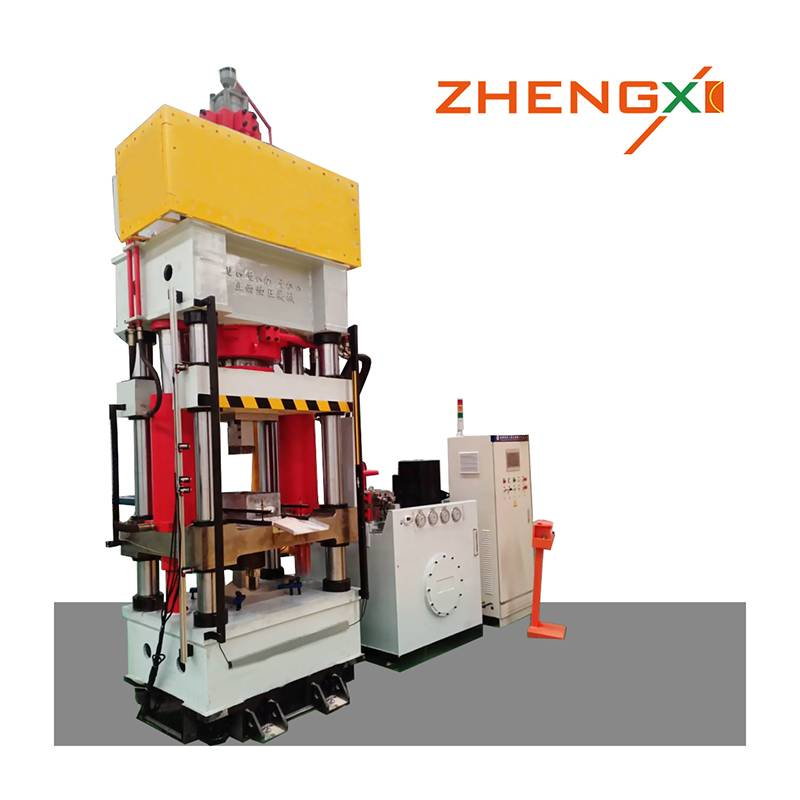 High Quality Powder Forming Hydraulic Press - Salt block hydraulic press – Zhengxi detail pictures