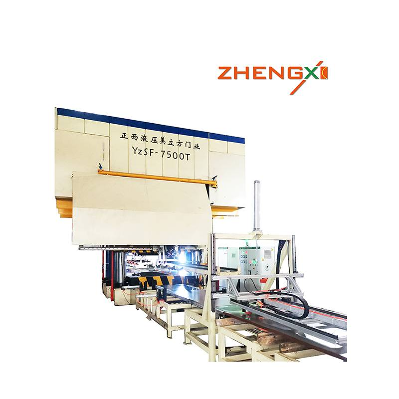 China wholesale Door Hydraulic Embossing Press - door embossing machine – Zhengxi