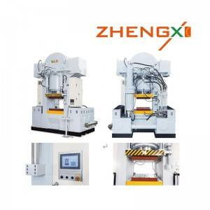 New Arrival China Hydraulic Cold Press Machine - Nonstick pan Cold forging hydraulic press – Zhengxi