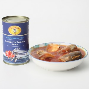 Factory wholesale Canned Fish With Curry - Canned Sardine in Tomato Sauce – Excellent Company
