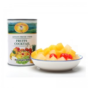 Fast delivery Fish Cans - Canned Fruit Cocktails – Excellent Company