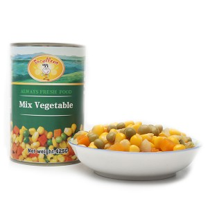 China Supplier Fresh Canned Vegetables - Canned Mixed Vegetable – Excellent Company