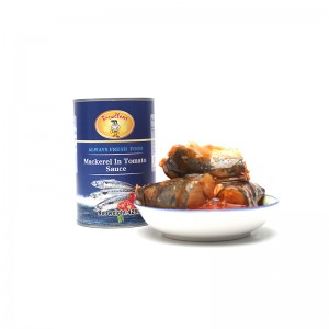 High Quality for Canned Sardine Fish - Canned Mackerel in tomato sauce – Excellent Company